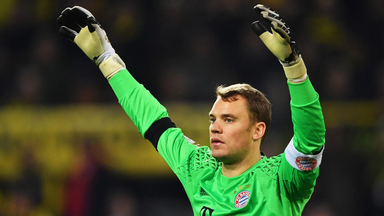 Manuel Neuer - Bildquelle: 2016 Getty Images