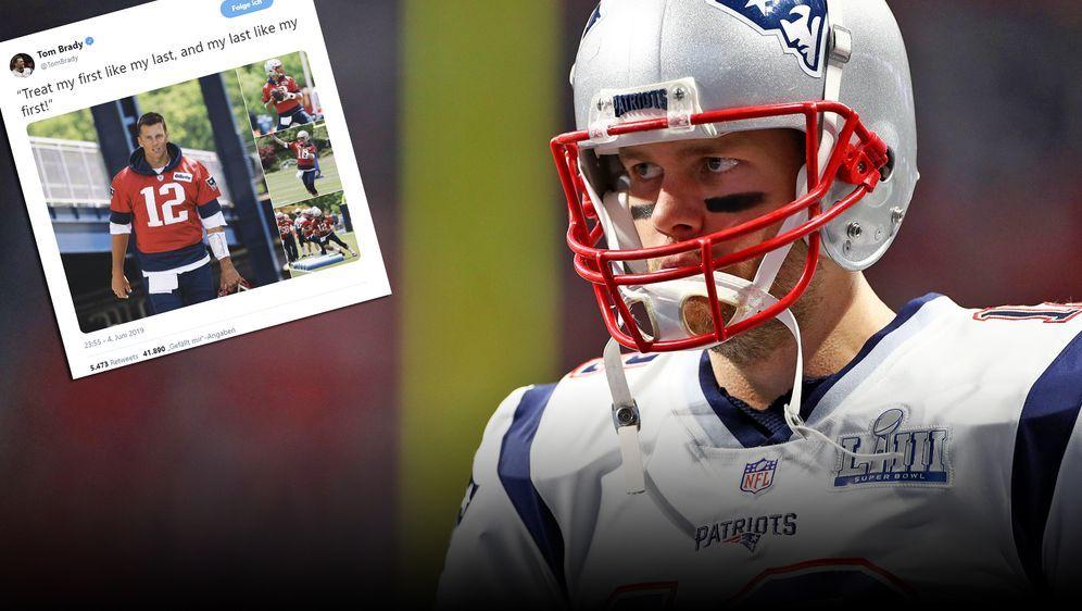 Tom Brady und das ewige Rücktrittsthema. - Bildquelle: imago images / ZUMA Press