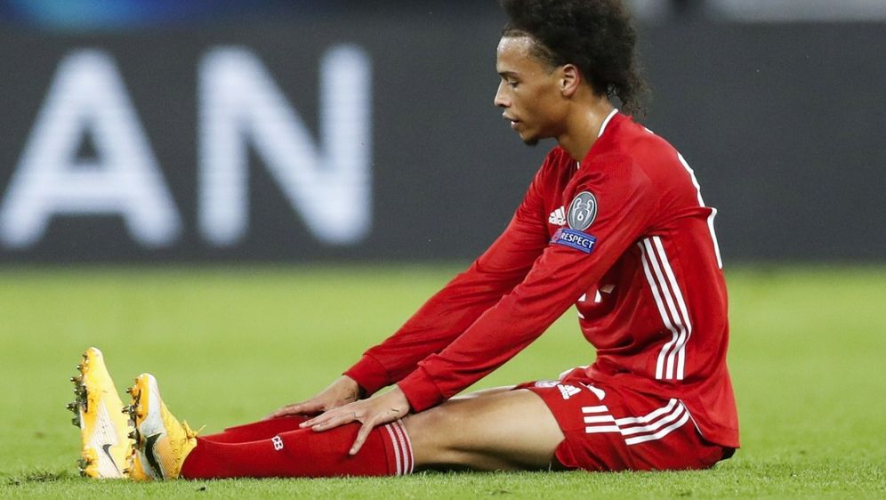 Leroy Sane fehlt dem FC Bayern wohl in den kommenden Wochen - Bildquelle: AFPSIDLASZLO BALOGH