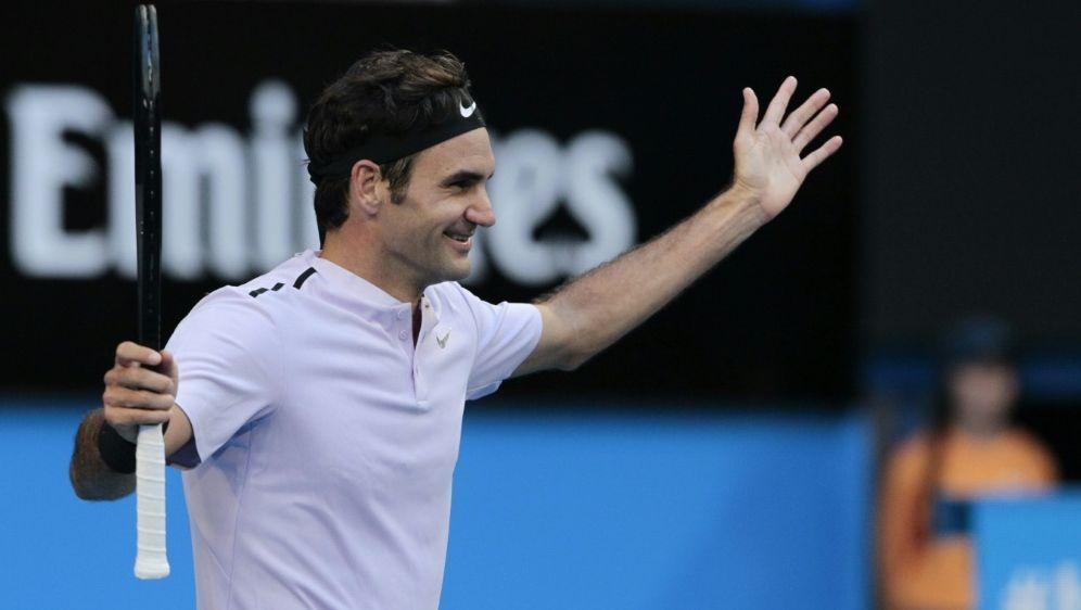 Federer gewinnt nach Comeback gegen Mischa Zverev - Bildquelle: PIXATHLONPIXATHLONSID