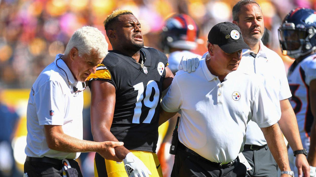 JuJu Smith-Schuster (Pittsburgh Steelers) - Bildquelle: Getty Images