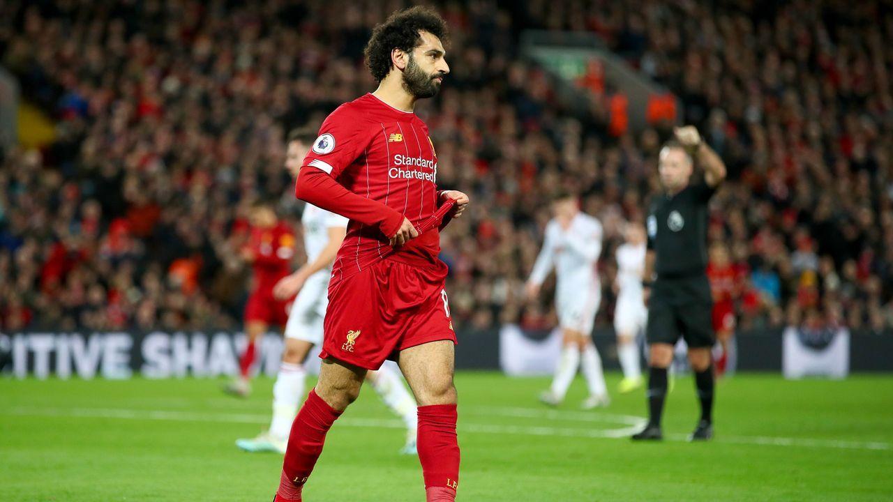 Platz 3 - Mohamed Salah (FC Liverpool) - Bildquelle: 2020 Getty Images