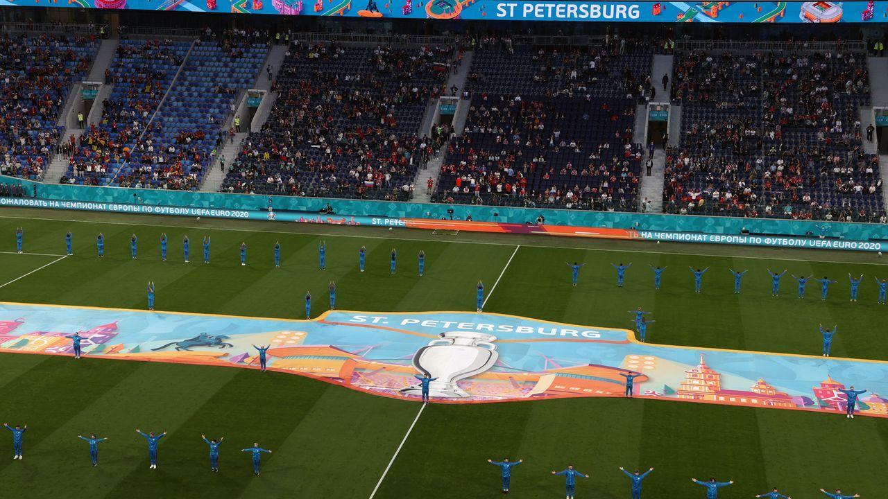 St. Petersburg als Schauplatz des Abendspiels - Bildquelle: 2021 Anton Vaganov - Pool