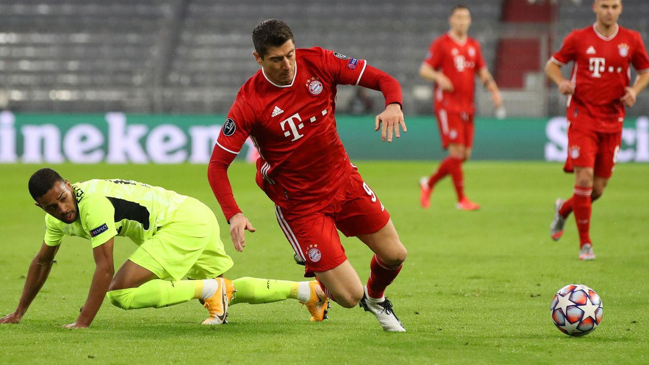 Robert Lewandowski (bis 83.) - Bildquelle: Getty Images