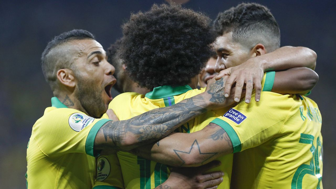Platz 2: Brasilien - Bildquelle: imago images / Fotoarena