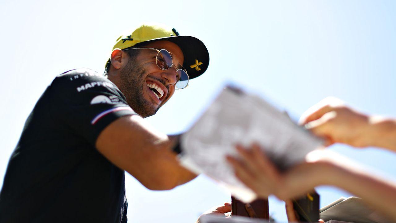 Daniel Ricciardo (Renault F1 Team) - Bildquelle: 2019 Getty Images
