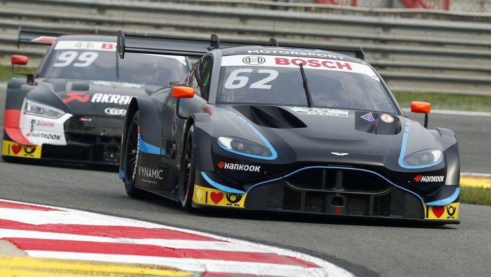 Aston Martin verlor in Zolder wichtige Punkte für die Markenwertung - Bildquelle: LAT