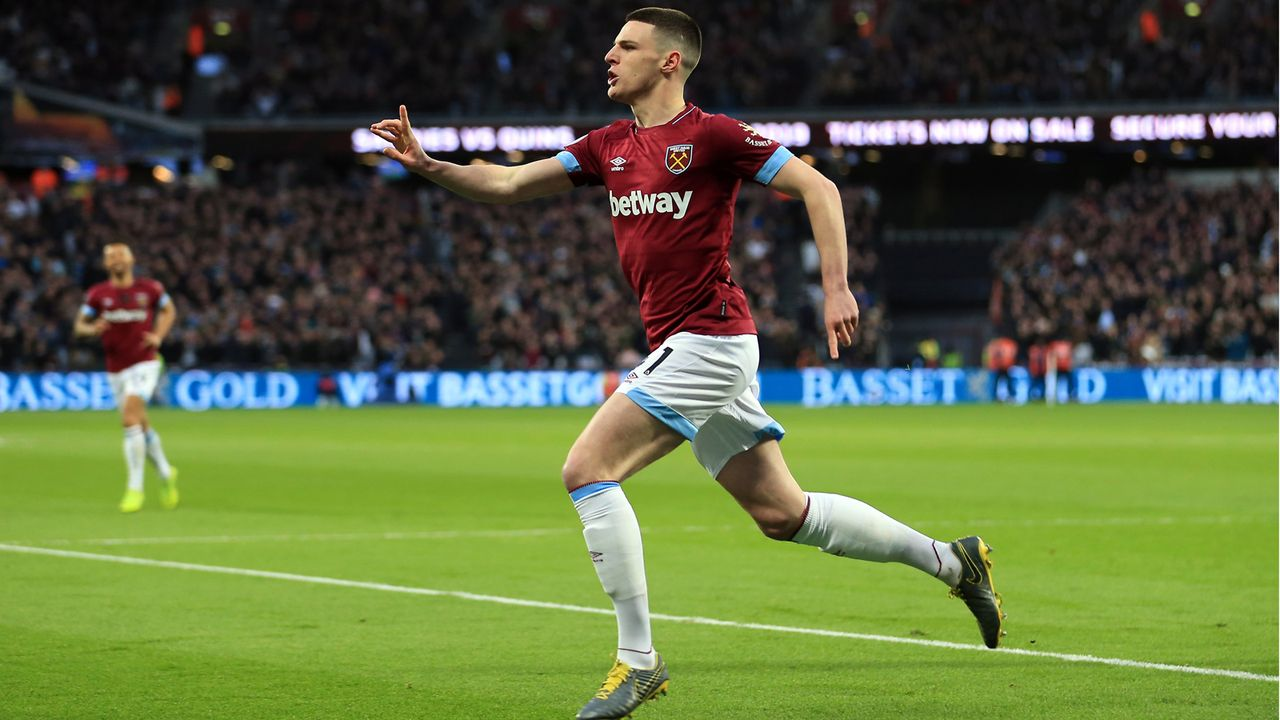 Platz 5 - Declan Rice (West Ham United) - Bildquelle: 2019 Getty Images