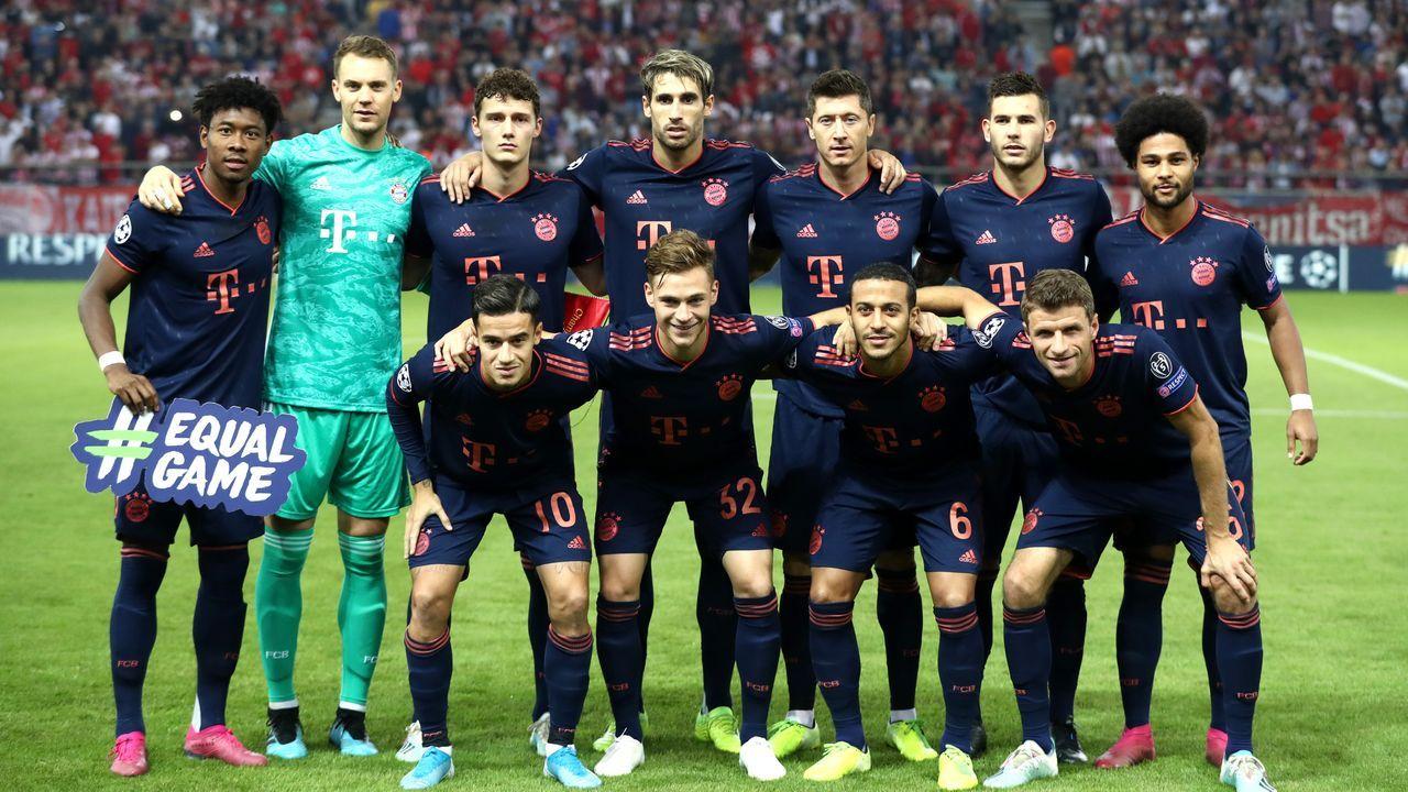 Die Bayern-Stars im Spiel bei Olympiakos Piräus in der Einzelkritik - Bildquelle: getty images