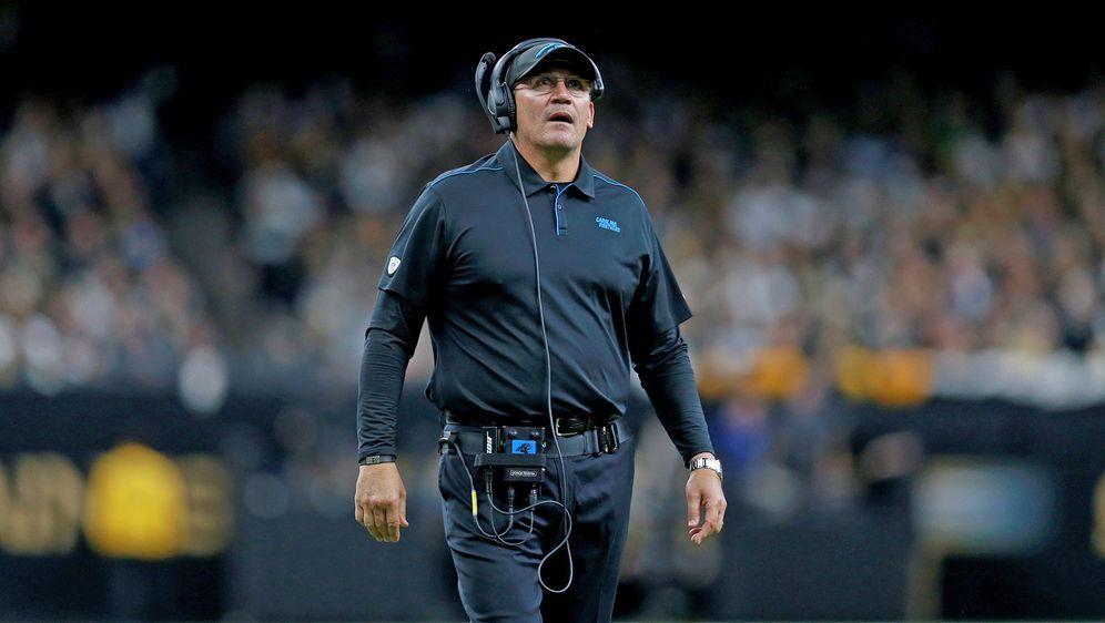 Nach acht Jahren trennen sich die Carolina Panthers von Head Coach Ron River... - Bildquelle: Getty Images
