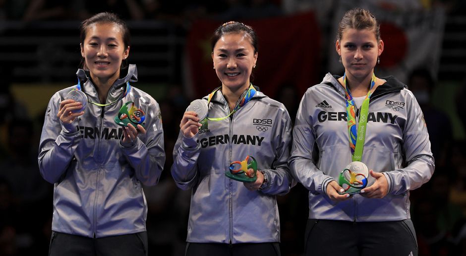 Damen-Tischtennis (Mannschaft/Silber) - Bildquelle: 2016 Getty Images