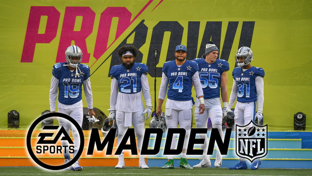 2021 nur virtuell als Madden-Event: Der NFL Pro Bowl. - Bildquelle: Getty Images/ EA Sports