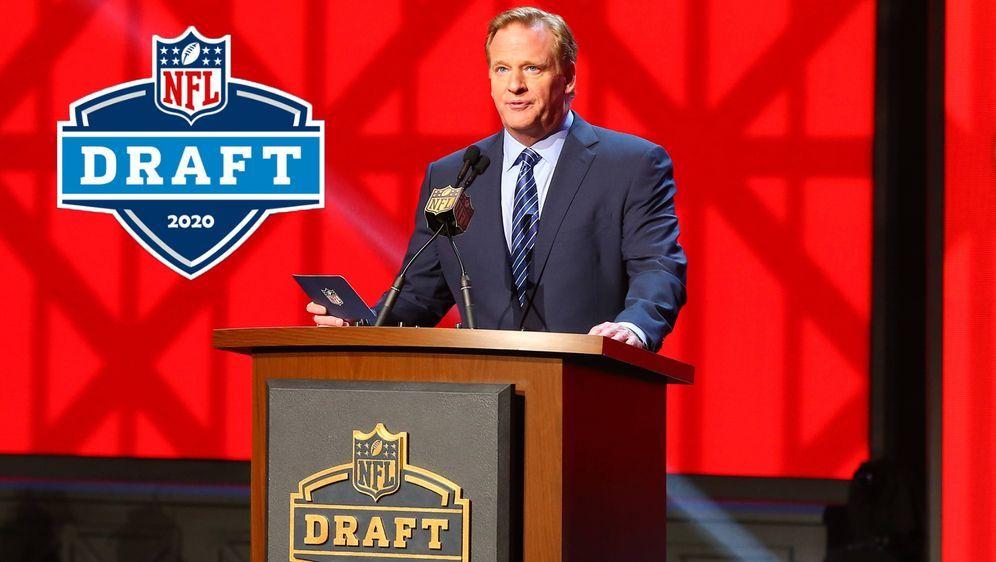 Roger Goodell hält an dem ursprünglichen Termin von dem NFL Draft 2020 fest - Bildquelle: imago/Icon SMI