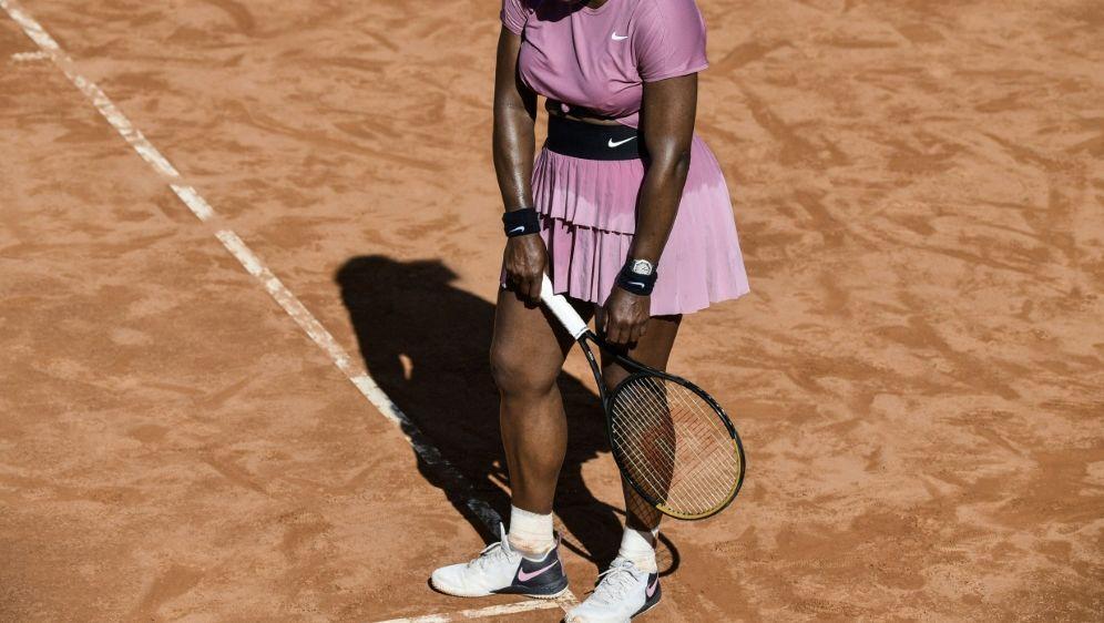 Serena Williams ist in Rom früh ausgeschieden - Bildquelle: AFPSIDFILIPPO MONTEFORTE