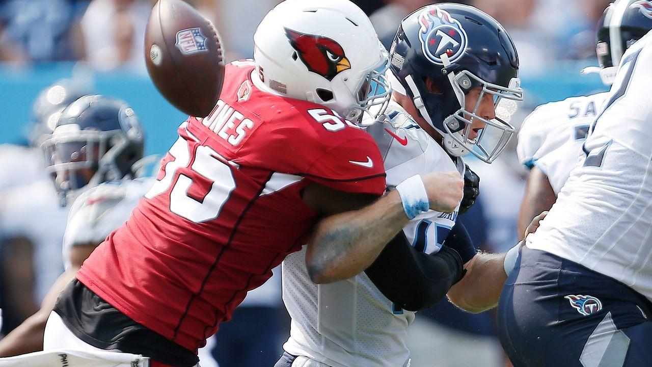 Nach Cardinals-Sack-Show: Titans-O-Liner entschuldigt sich - Bildquelle: Getty Images