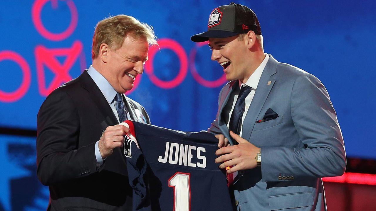 Platz 20 - New England Patriots - Bildquelle: imago images/UPI Photo