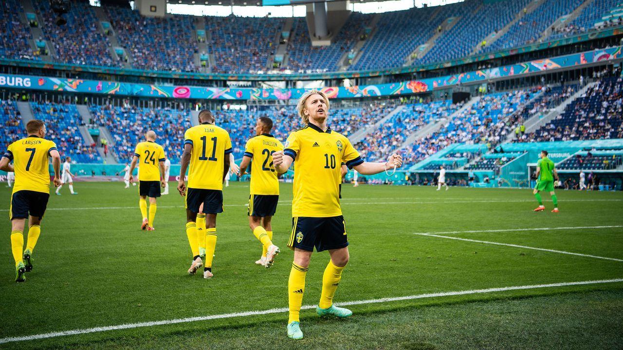 1:0 Schweden - Bildquelle: imago images/Bildbyran