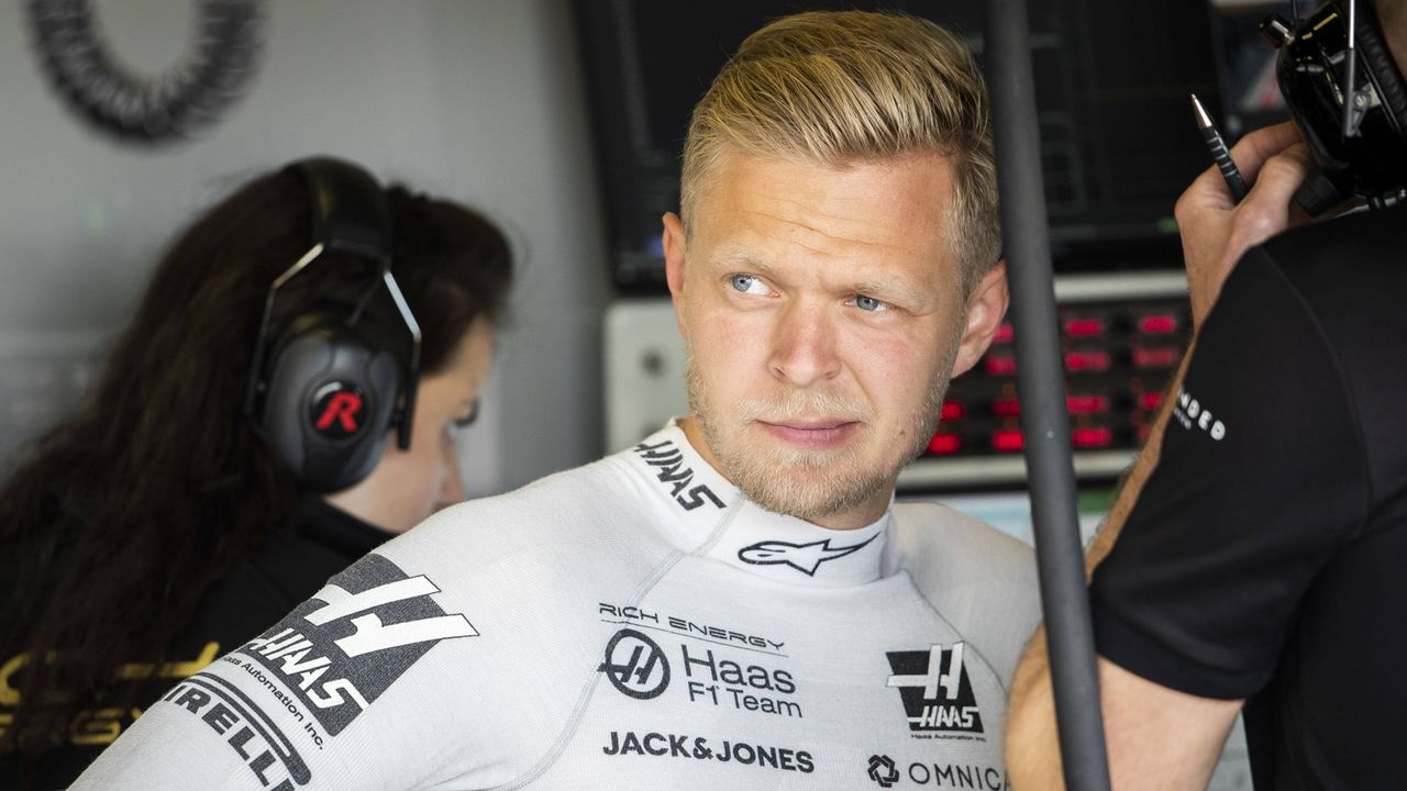 Kevin Magnussen (Haas F1) - Bildquelle: imago images / HochZwei