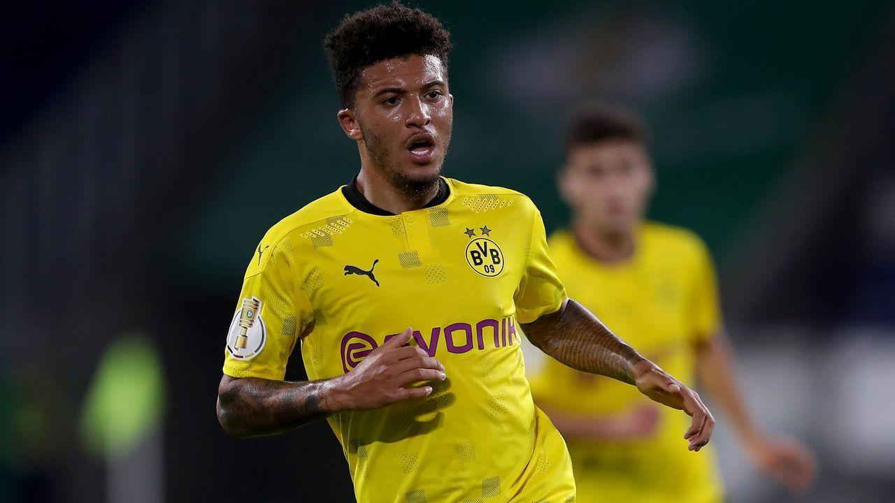 4. Jadon Sancho (Borussia Dortmund) - 80 Punkte - Bildquelle: Getty Images