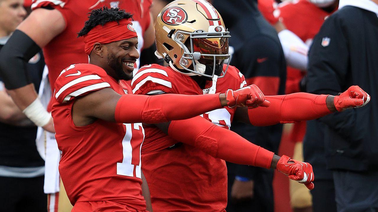 Gewinner: Emmanuel Sanders (San Francisco 49ers) - Bildquelle: 2020 Getty Images