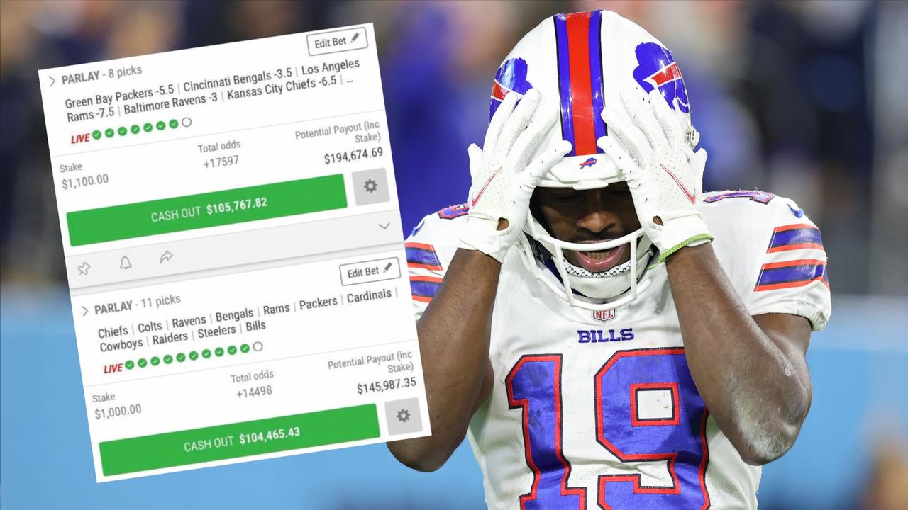 Wegen Bills-Niederlage: 340.000 Dollar Gewinn futsch - Bildquelle: Getty Images/Bleacher Report