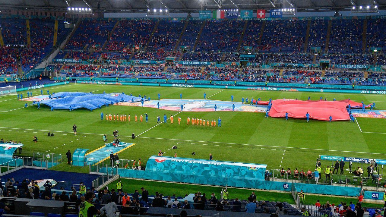 Italien vs. Schweiz - Bildquelle: imago images/Independent Photo Agency