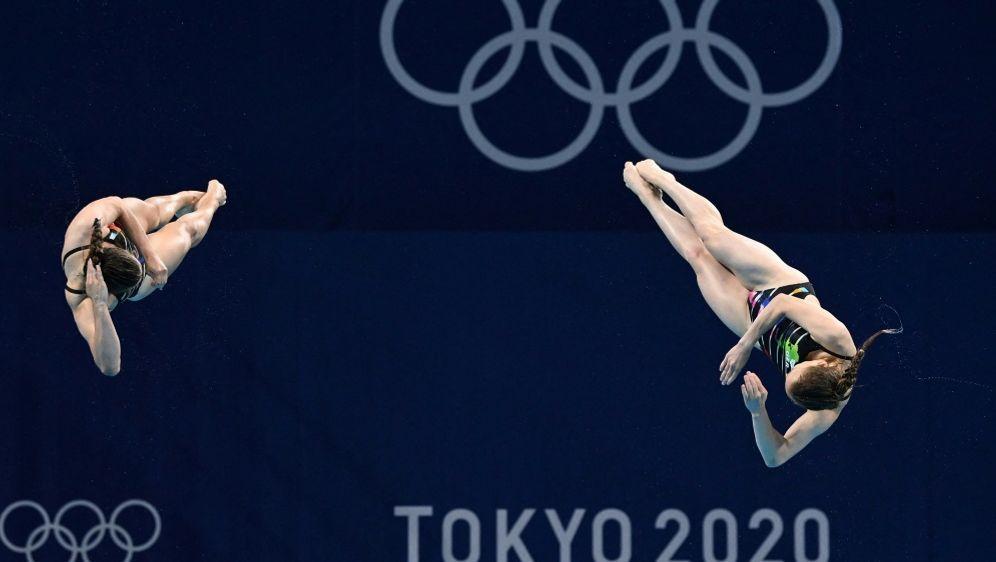 3-m-Brett: Duo Tina Punzel/Lena Hentschel gewinnt Bronze - Bildquelle: AFPSIDJONATHAN NACKSTRAND