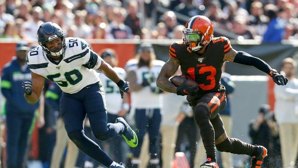 NFL: Geldstrafe gegen Wide Receiver Odell Beckham Jr. - Bildquelle: AFPGETTY SIDKirk Irwin