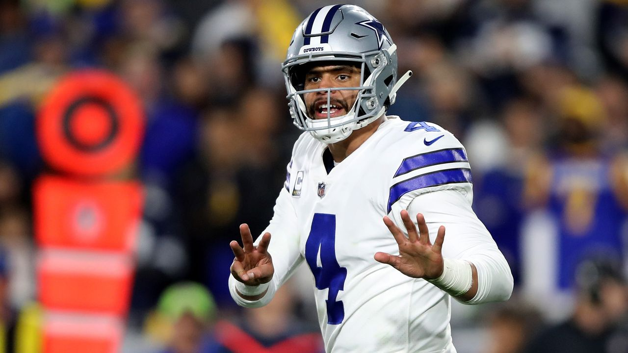 Platz 6: Dak Prescott (Dallas Cowboys) - Bildquelle: Getty Images