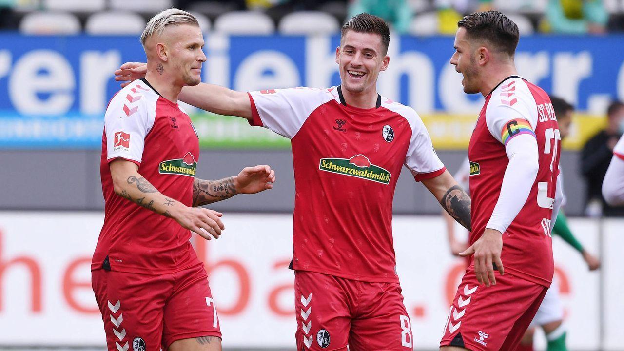 10. Platz: SC Freiburg (37 Punkte) - Bildquelle: Imago Images