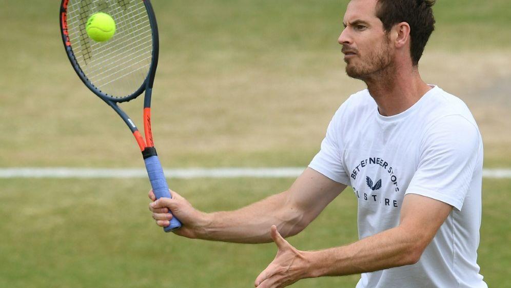 Auf dem Weg zum Einzel-Comeback: Andy Murray - Bildquelle: AFPSIDBEN STANSALL