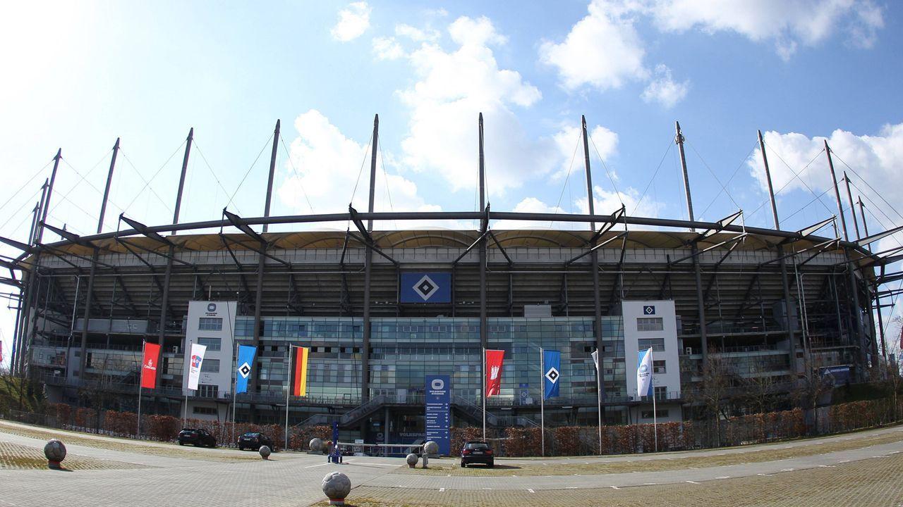 Volksparkstadion in Hamburg  - Bildquelle: imago images/Hanno Bode