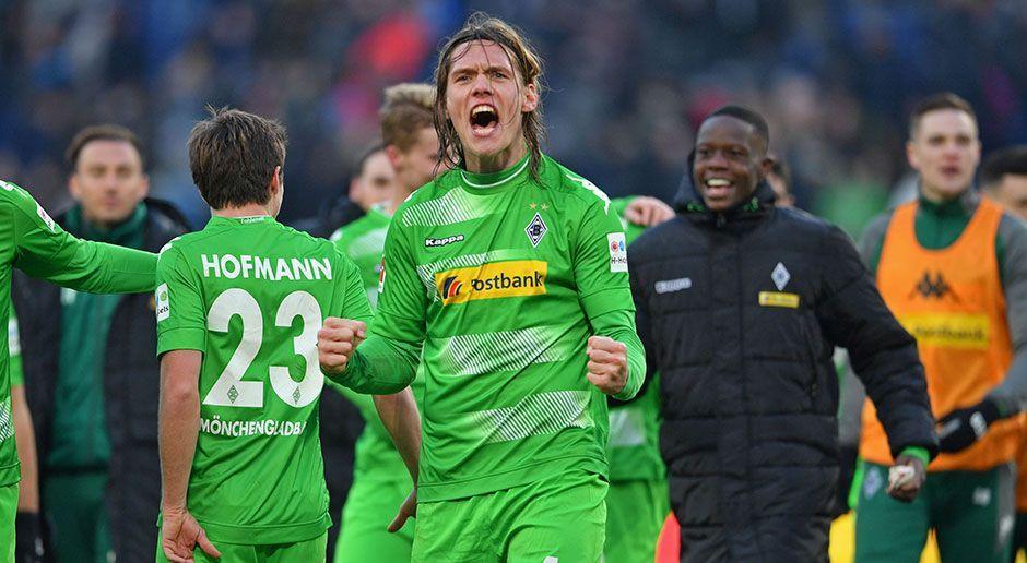 8. Borussia Mönchengladbach - Bildquelle: 2018 Getty Images