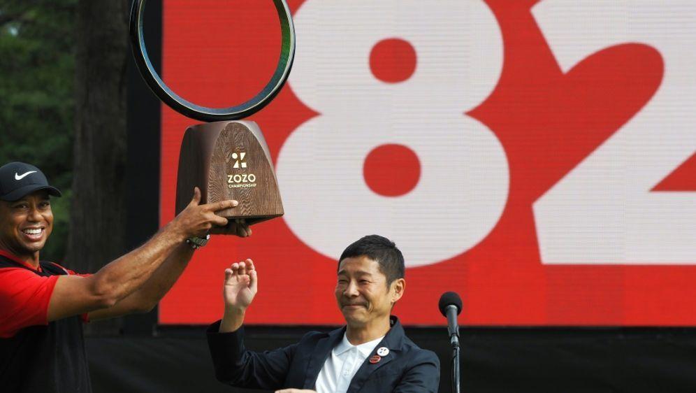 Tiger Woods hat eine weitere Bestmarke erreicht - Bildquelle: SIDSIDAFPTOSHIFUMI KITAMURA