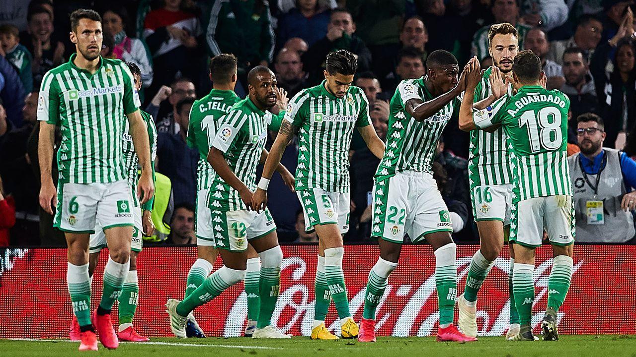 14. Betis Sevilla - Bildquelle: 2020 Getty Images