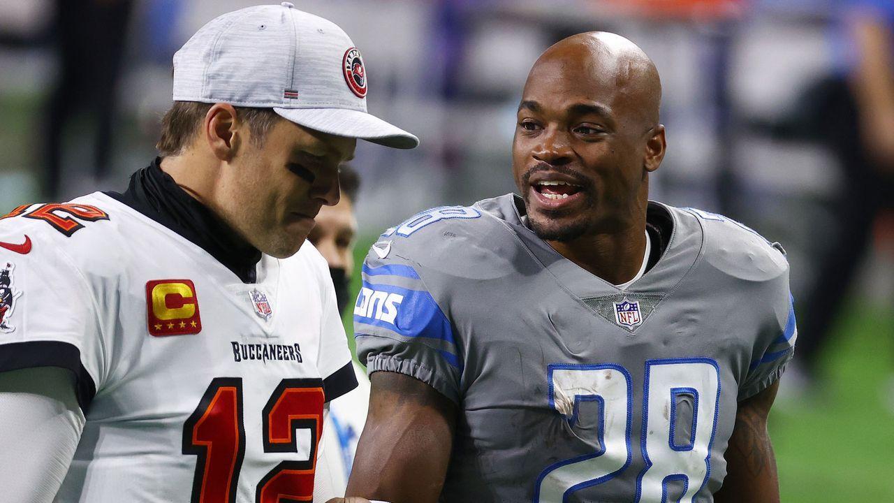 Adrian Peterson (Detroit Lions) - Bildquelle: Getty Images
