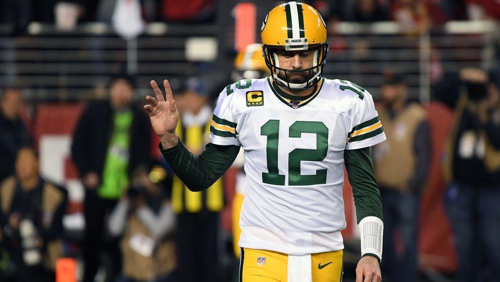 Aaron Rodgers und die Green Bay Packers unterlagenim NFC Championship Game ... - Bildquelle: 2020 Getty Images