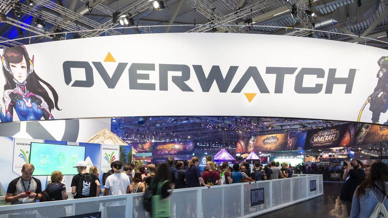 Platz 8: Overwatch - Bildquelle: imago/Jürgen Schwarz