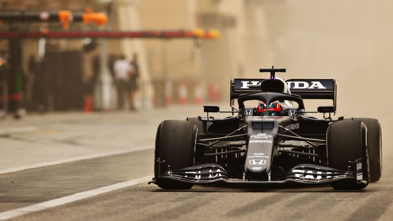 Bahrain-Tests: Tsunoda ist der erste 2000er Fahrer in der Formel 1 - Bildquelle: Getty Images