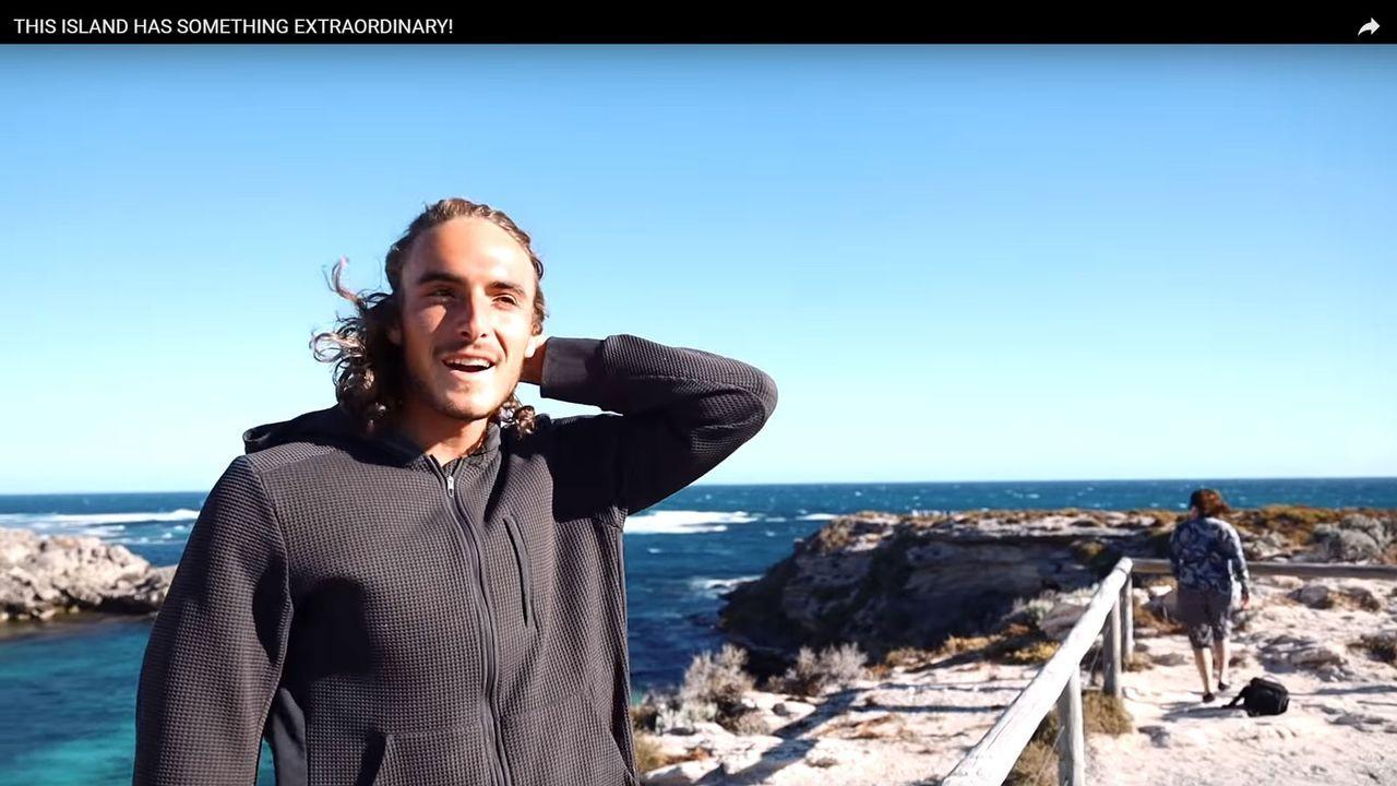 Griechenlands neue Tennis-Hoffnung: Das ist Stefanos Tsitsipas - Bildquelle: https://www.youtube.com/watch?v=gnkJF2BDw3o