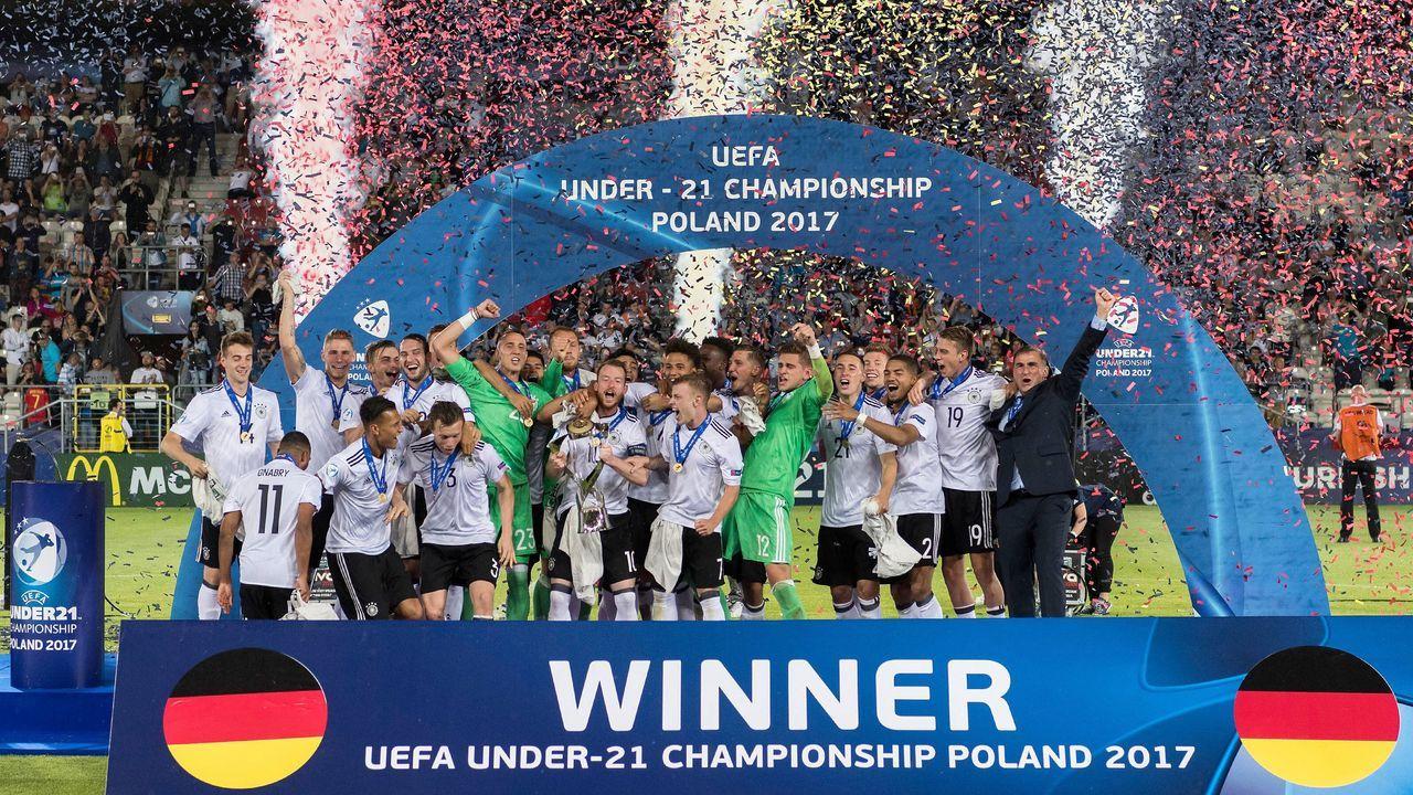 Europameister mit der Deutschen U21-Nationalmannschaft 2017 - Bildquelle: imago/Ulmer