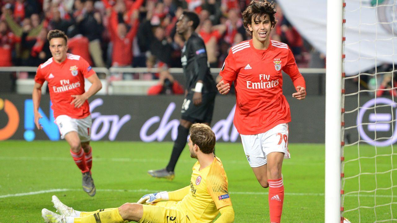 Platz 6 - Joao Felix (Benfica Lissabon) - Bildquelle: 2019 Getty Images