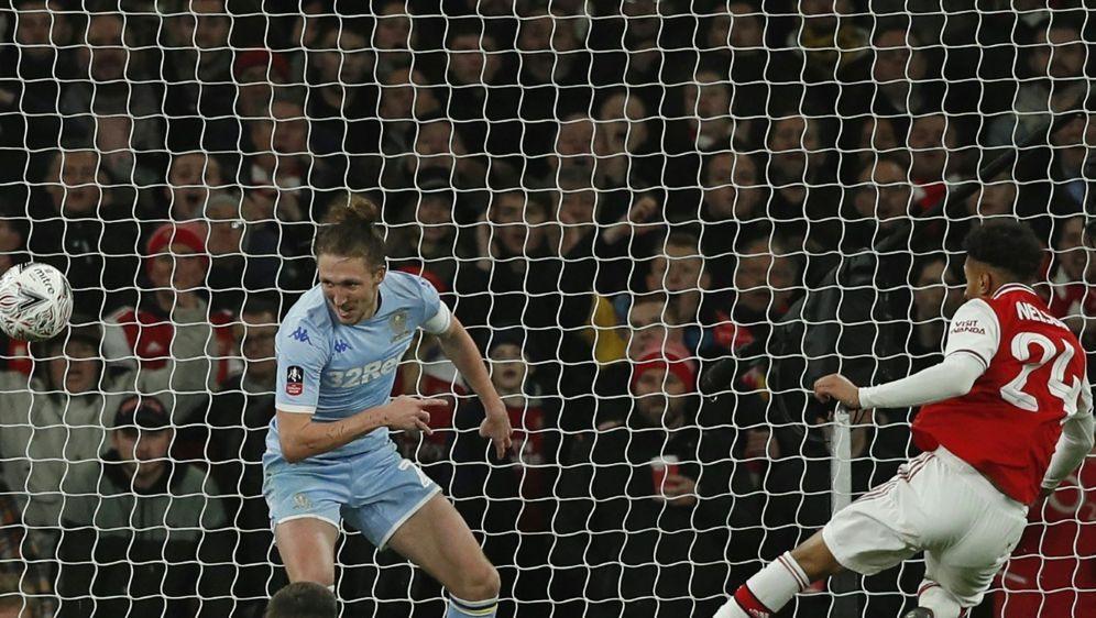 Reiss Nelson schießt Arsenal in die nächste Runde des FA-Cup - Bildquelle: AFPSIDADRIAN DENNIS