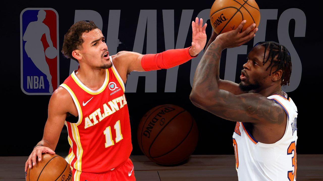 Atlanta Hawks (5) vs. New York Knicks (4) - Bildquelle: 2020 Getty Images