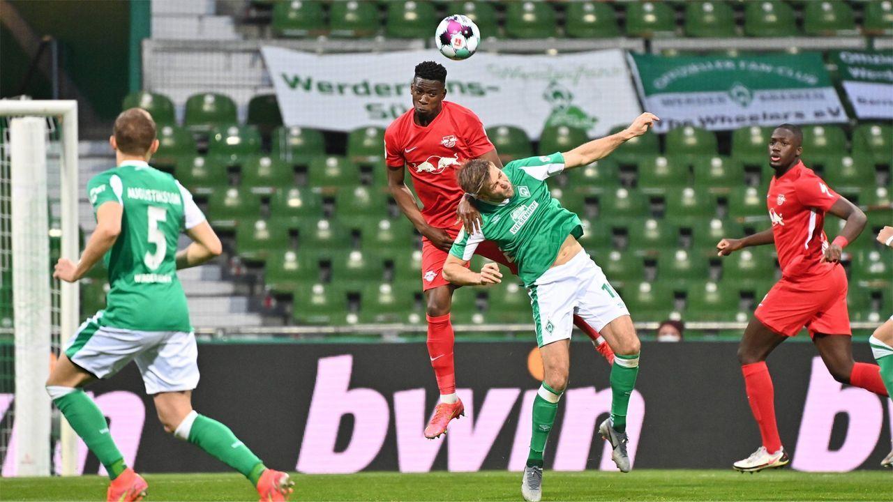 Bremen startet gallig ins Spiel  - Bildquelle: Imago Images