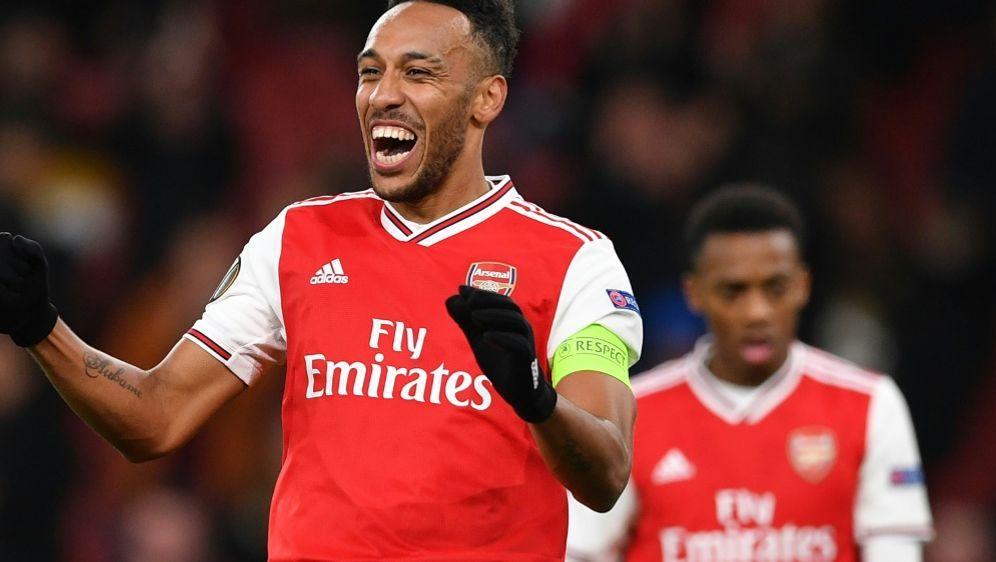 Pierre-Emerick Aubameyang will bei Arsenal bleiben - Bildquelle: AFPSIDDANIEL LEAL-OLIVAS