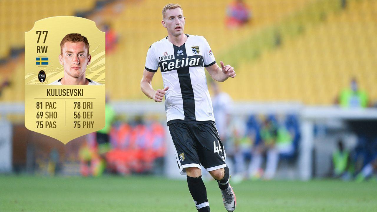 Dejan Kulusevski (Juventus Turin) - Bildquelle: Imago / Futhead