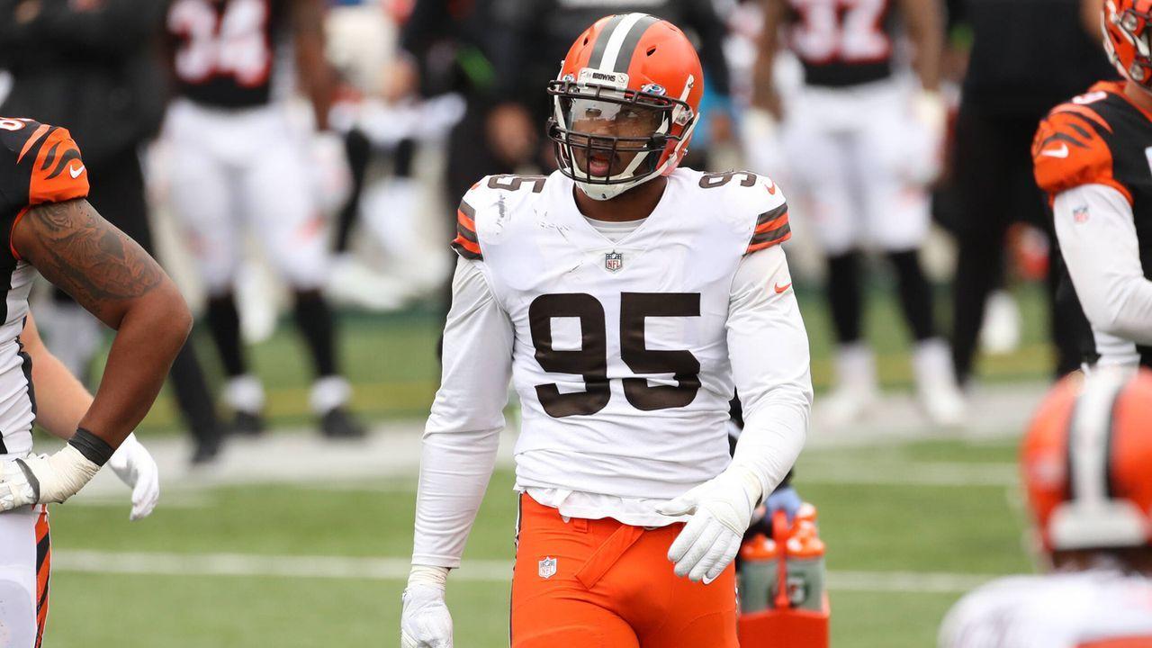 12. Myles Garrett (Cleveland Browns) - Bildquelle: imago images/Icon SMI