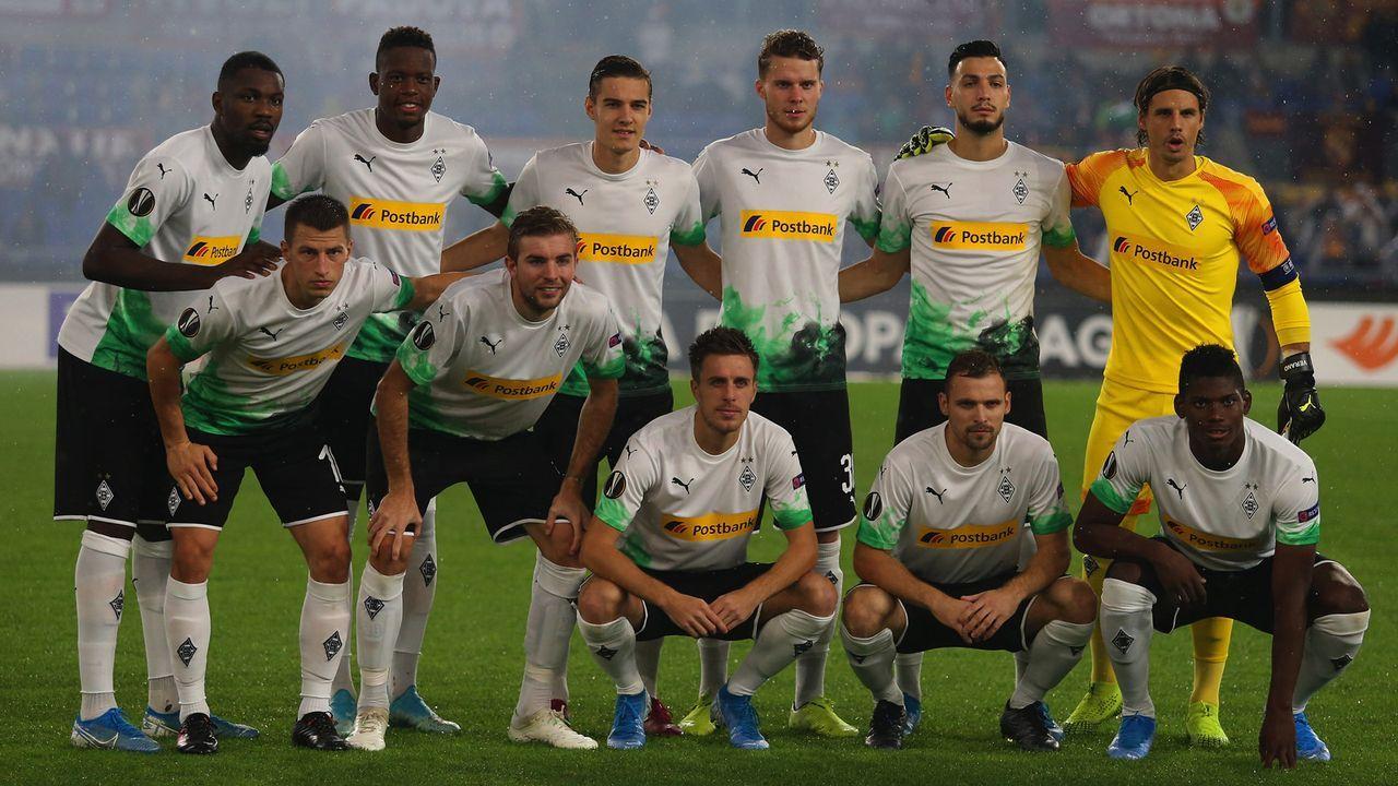 Einzelkritik: So schlugen sich die Profis von Borussia Mönchengladbach bei der AS Rom - Bildquelle: getty