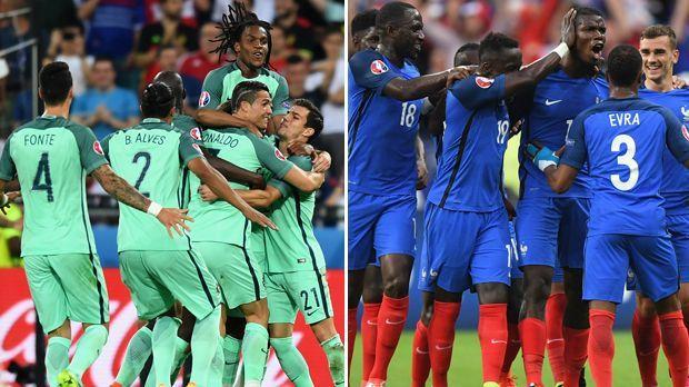 Head to Head: Portugal vs. Frankreich - Bildquelle: Getty Images